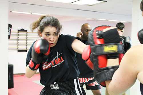 muay thai leaside